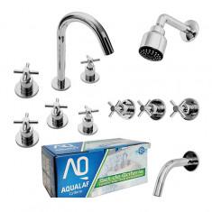 """Aq8000, Set De Baño Completo Cr, """"aqualaf"""""""