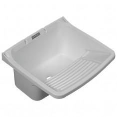 """Pileta Pvc P/lavadero Blanco Chica 49 X 43 X 28 Cm., """"duke""""  *5*"""