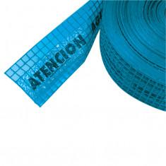 Malla Advert. P/agua (azul) 0,15 X 100 Mts.