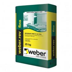 Weber.rev Fino, Revoque Fino A La Cal P/int X 25 Kg., *56*