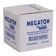 "Pintura Asfaltica Acuosa X 4 Lts., ""megaton"""