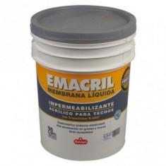 """Emacril Membrana Liquida Blanca × 4 Kgs., """"emapi""""  *4*"""