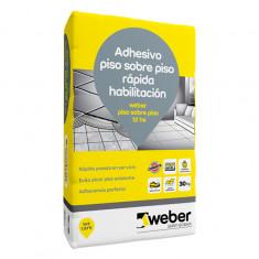 Weber.col Piso Sobre Piso 12 Hs. X 30 Kg., *56*