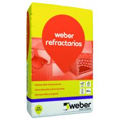 Weber.tec Refractario, Adhesivo P/mortero X 5 Kg.