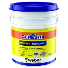 Weber Techos F, Fibrado Blanco × 20 Kgs. *48*
