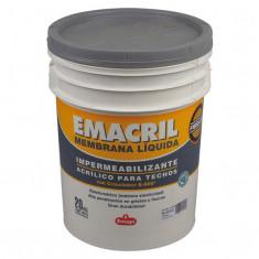 """Emacril Memb. Liquida Fibrado Blanca × 20 Kgs., """"emapi""""  *30*"""