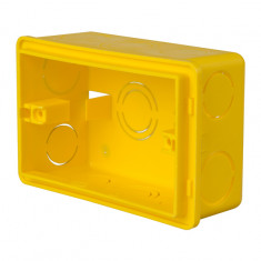 Caja Plastica P/luz Rectangular 6,5 X 11 Cm., *150*