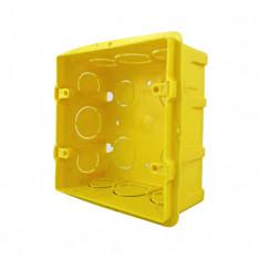 Caja Plastica P/luz Cuadrada 10 X 10 Cm.,  *50*