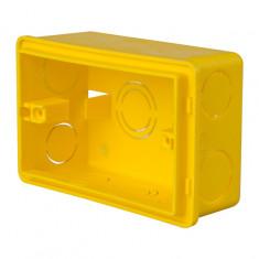 Caja Plastica P/luz Octogonal Grande 9,3 X 9,3 Cm. *30*