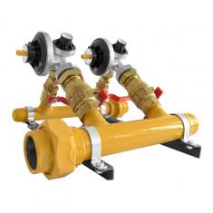 """Cuadro Regulacion P/gas 4 × 100 M3/hora, """"m Y S"""""""