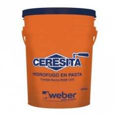 "Ceresita, Hidrofugo X 10 Kg., ""weber"""