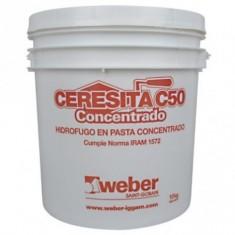"Ceresita C 50, Concentrada X 4 Kg., ""weber"""
