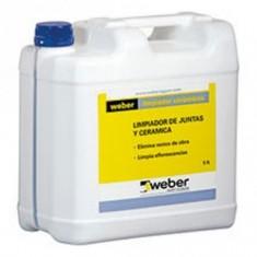 Weber Limpiador P/pisos Y Revestimientos X 5 Lts.