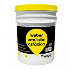 Weber Emulsion Asfaltica Acuosa X 18 Kg.  *36*