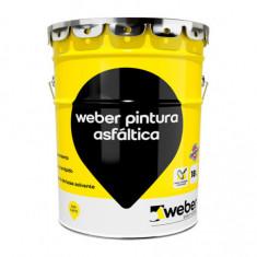 Weber Pintura Asfaltica Base Solvente X 18 Lt.  *36*