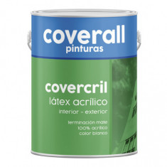 "Latex Exterior Profesional × 4 Lts., ""cover Cril"" *150*"
