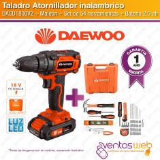 """Taladro Atornillador De Litio 18 Volt. """"dacd1800v2"""""""
