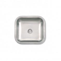 """Bacha Acero Simple 37×34×15 Cm., """"mi Pileta"""" (p)"""