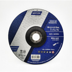 "Disco  Desbaste Bda645 P/acero 114.3 X 6,4 X 22,2, ""norton"" (10)"