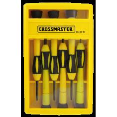 """Set Destornilladores P/electricidad 6 Piezas,  """"crossmaster""""  *10*"""