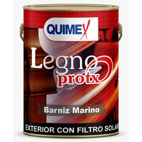 """Barniz Marino Brill. Interior - Exterior × 4 Lts., """"quimex""""  *2*"""