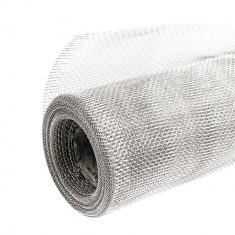 Tela Mosquitera Aluminio 0,8 X 30 Mts.
