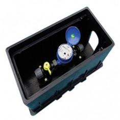"Kit Medidor Agua Bce C/caja, Conex. Y Valvula Pvc, ""precis"""