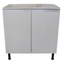 Mueble P/lavadero C/mesada De Marmol Sintetico 60 Cm.