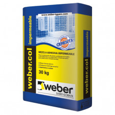 Weber.col Impermeable Pegamento C/ceresita. X 30 Kg., *56*