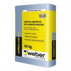 Weber.col Pro, Pegamento P/porc. X 30 Kg., *56*