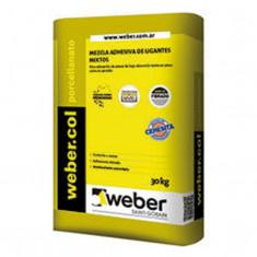 Weber.col Porcellanato X 30 Kg., *56*