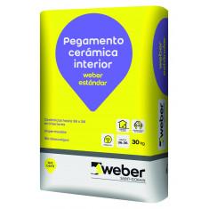 Weber.col Estandar Pegamento P/ceramico X 30 Kg., *56*