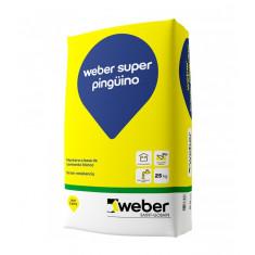 Weber Pinguino, Cemento Blanco X 25 Kg. *56*