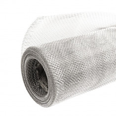 Tela Mosquitera Aluminio 1,2 X 30 Mts.