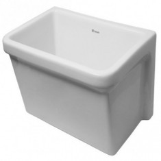 "Pileta Lavar Loza Blanco 550 X 370 Mm., ""ferrum Pfc-b"" *24*"